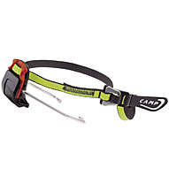 Camp Sistema Auto/Semi-Automatic Skimo - fissaggio talloniera, Yellow/Grey