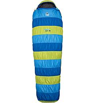 Camp Stretch Down 400 - Daunenschlafsack, Blue/Yellow