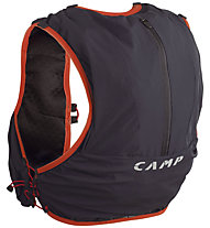 Camp Trail Force 10 - zaino trail running, Anthracite/Red