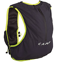 Camp Trail Force 10 - zaino trail running, Anthracite/Lime