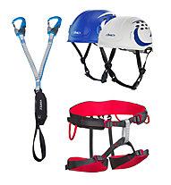 Camp Set bestehend aus Klettersteigset + Klettergurt + Helm