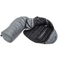 Carinthia D400 - sacco a pelo piuma, Grey/Black