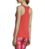 Casall Textured Loose Racerback - top yoga - donna, Red