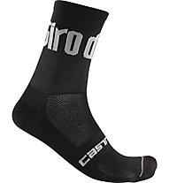Castelli 13 Giro d'Italia 2020 - calze bici, Black