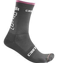 Castelli #Giro102 13 - calzini bici Giro d'Italia 2019, Grey
