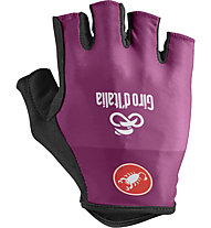 Castelli #Giro102 - guanti bici Giro d'Italia 2019, Purple