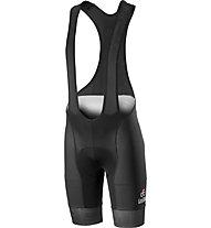 Castelli #Giro102 Volo Bibshort - Schwarze Radhose Giro d'Italia 2019 - Herren, Black