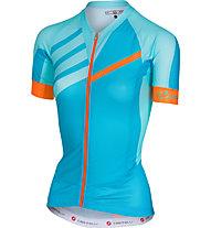 Castelli Aero Race W - Radtrikot - Damen, Light Blue