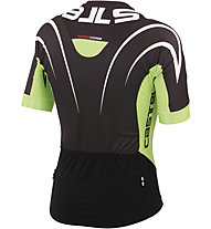 Castelli Aero Race 5.0 Jersey, Black/Lime/White