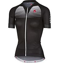 Castelli Aero Race - maglia bici - donna, Black/White