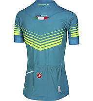 Castelli Aero Race - maglia bici - donna, Blue/Yellow