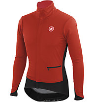 Castelli Alpha Jacket WINDSTOPPER Radjacke, Red/Black