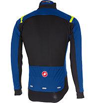 Castelli Alpha Ros Light - giacca bici - uomo, Light Blue/Black