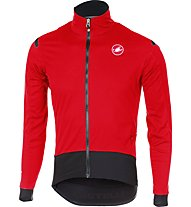 Castelli Alpha Ros Light - Radjacke - Herren, Red/Black