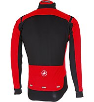 Castelli Alpha Ros Light - giacca bici - uomo, Red/Black