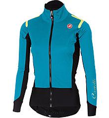 Castelli Alpha Ros W - giacca bici - donna, Light Blue