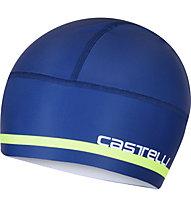 Castelli Arrivo 2 Thermo - berretto bici, Blue