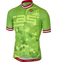Castelli Attacco Jersey FZ Radtrikot, Pro Green