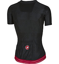 Castelli Bellissima Jersey - maglia bici donna, Black/Red
