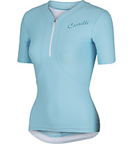 Castelli Bellissima Jersey - maglia bici donna, Pastel Blue