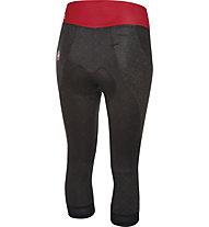 Castelli Pantaloni bici Bellissima Knicker, Black/Red