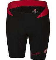 Castelli Bellissima - Radhose - Damen, Black/Red