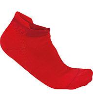Castelli Bellissima - calzini bici - donna, Red