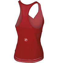 Castelli Bellissima Wonder Top Damen-Radtrikot mit integ. BH, Red