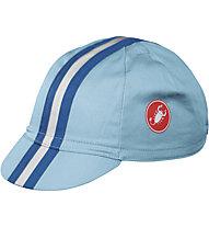 Castelli Retro 2 Mütze, Blue/White