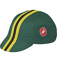 Castelli Retro 2 Cap - Cappellino, British Green/Black/Yellow