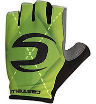 Castelli Cannondale Roubaix Gloves Guanti Bici, Green