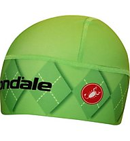 Castelli Cannondale Viva Skully Berretto Bici, Green