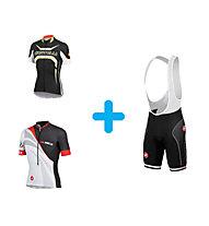 Castelli Bike Jersey + Free Aero Race Bibshort Kit Version