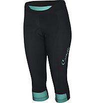 Castelli Chic - pantaloni bici - donna, Black/Light Blue