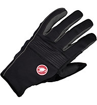 Castelli Chiro 3 Glove WINDSTOPPER Rad-Handschuhe, Black/Grey