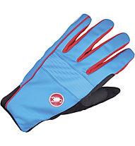 Castelli Chiro 3 Glove, Drive Blue/Red