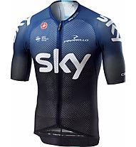 Castelli Team Sky 2019 Climber's 3.0 - Radtrikot - Herren, Black/Blue