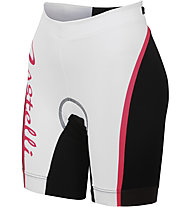 Castelli Core W Tri Short, White/Fucsia/Black