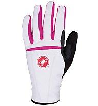 Castelli Cromo Damen-Radhandschuh, White/Pink