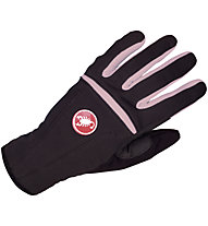 Castelli Cromo Glove - Guanto bici da donna, Black/Old Rose