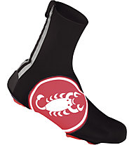 Castelli Diluvio Shoecover 16 - Überschuh, Black/Red