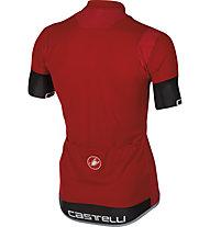 Castelli Entrata 2 Jersey FZ - Maglia Ciclismo, Red