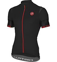Castelli Entrata 2 Jersey FZ - Maglia Ciclismo, Black