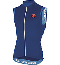 Castelli Entrata 2 Sleeveless FZ Top ciclismo, Surf Blue