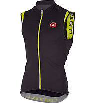 Castelli Entrata 2 Sleeveless FZ Top ciclismo, Anthracite