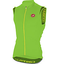 Castelli Entrata 2 Sleeveless FZ Top ciclismo, Pro Green