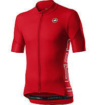Castelli Entrata V - maglia bici - uomo, Red