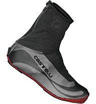Castelli Estremo Shoecover - Copriscarpe, Black/White