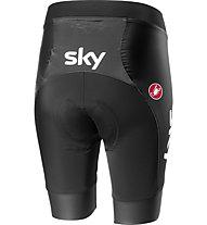 Castelli Team Sky 2019 Fan 19 - pantaloni bici - donna, Black