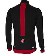 Castelli Fondo - maglia bici a manica lunga - uomo, Black/Red